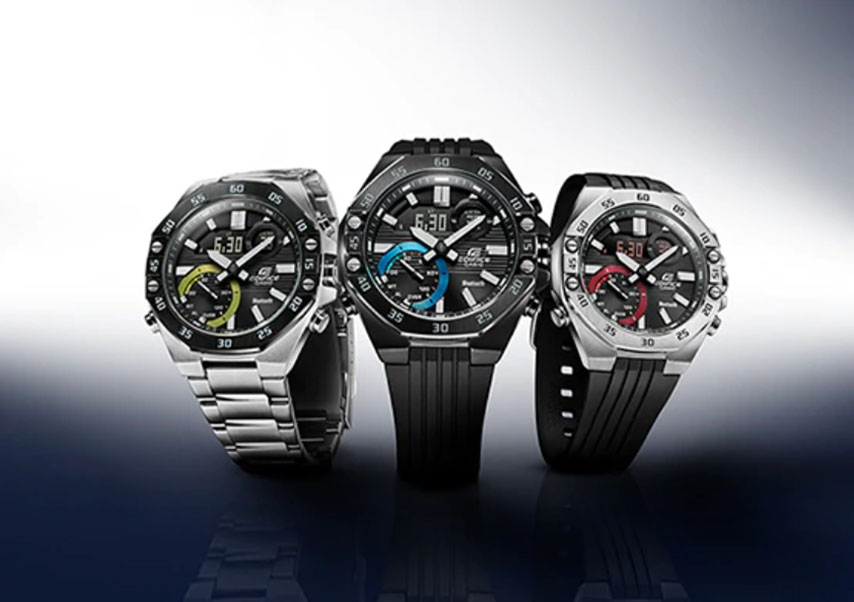 Casio to Release EDIFICE Models