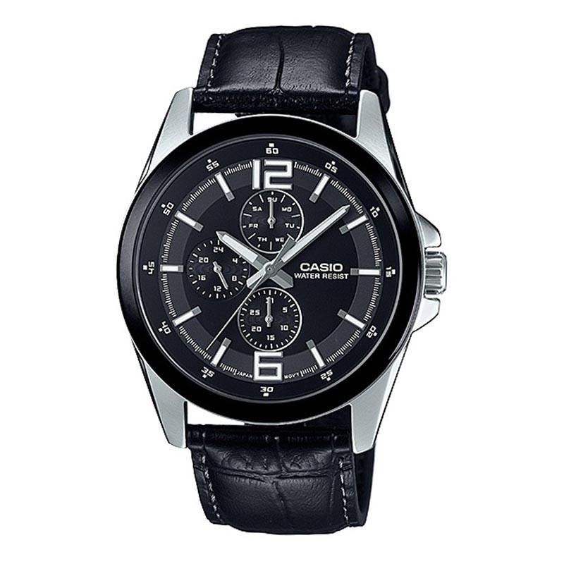 Casio Chronograph Watch for Men MTP E306L-1ADF