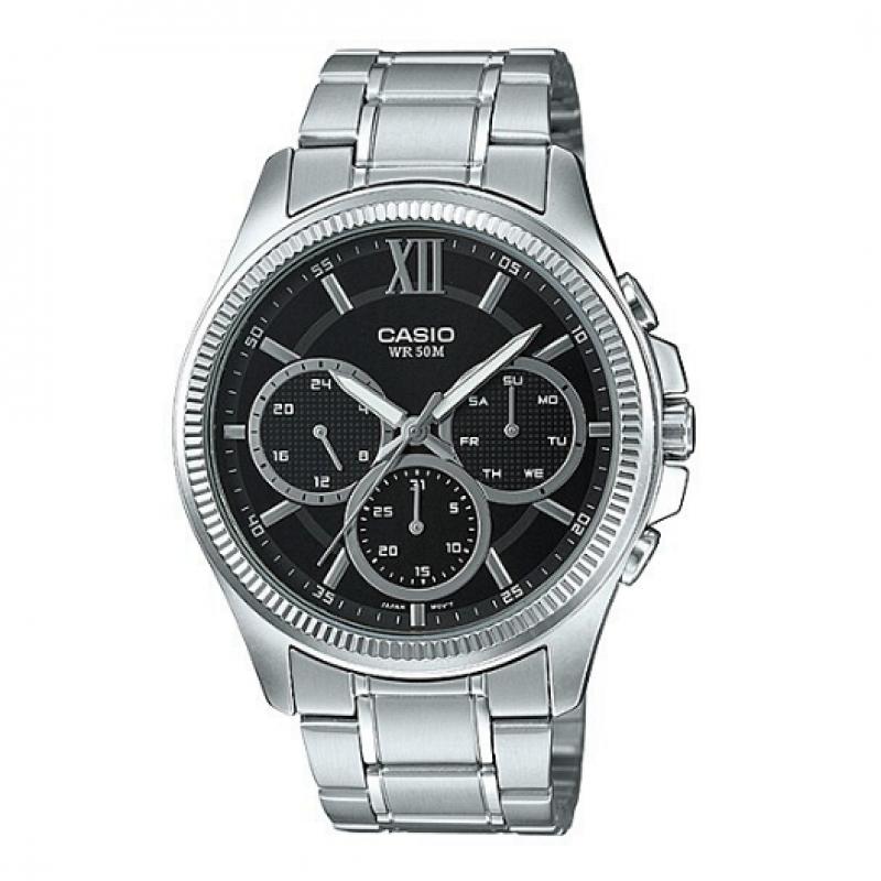 Casio Chronograph Watch for Men MTP E315D-1AVDF