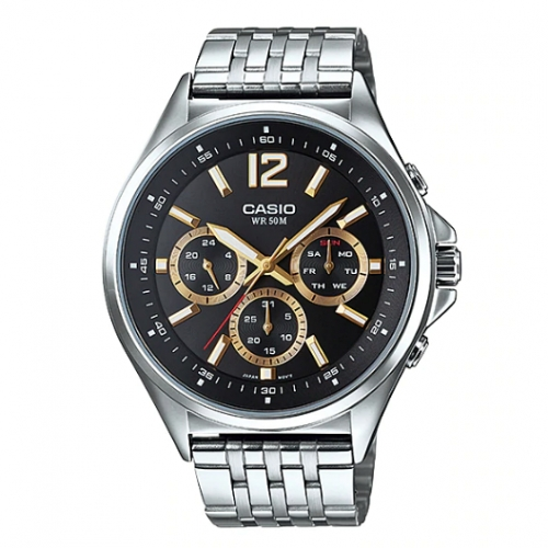 Casio Chronograph Watch for Men MTP E303D-1AVDF