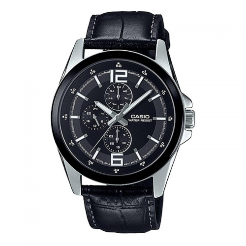 Casio Chronograph Watch for Men MTP E306L-1ADF