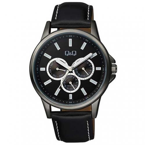 Q&Q AA32J502Y Analog chronograph Wrist Watch for Men-Black