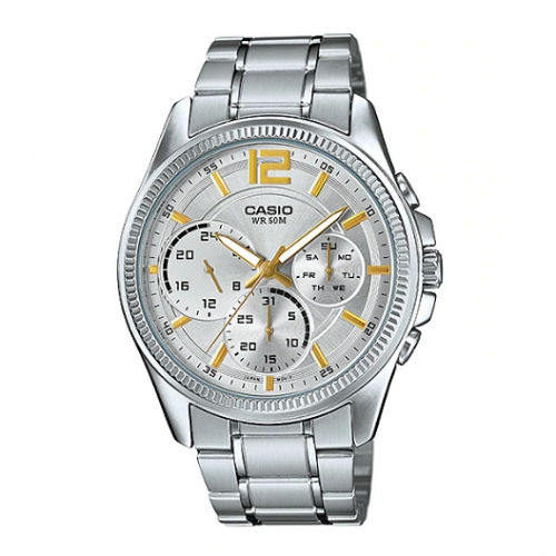 Casio Chronograph Watch for Men MTP E305D-7AVDF