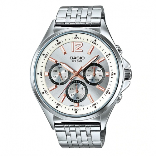 Casio Chronograph Watch for Men MTP E303D-7AVDF