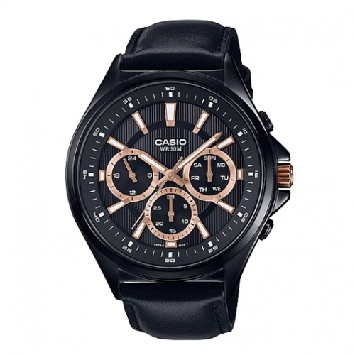 Casio Chronograph Watch for Men MTP E303BL-1A2VDF