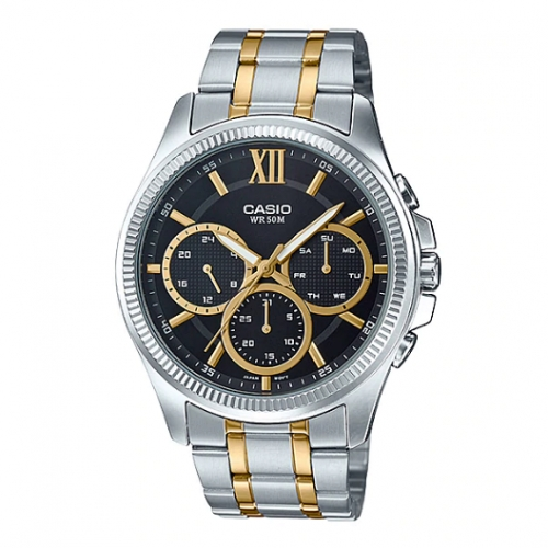 Casio Chronograph Watch for Men MTP E315SG-1AVDF