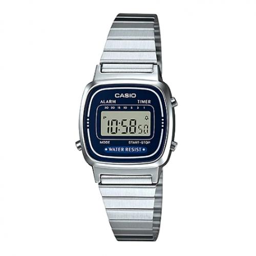 Casio Watch for Women LA 670WA-2DF
